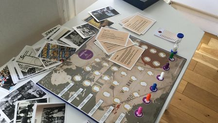 Patrick Vernon's Every Generation board game, which is marketed by Focus Games
