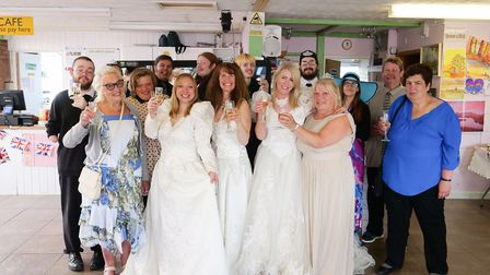The Unity Centre in Lowestoft held its very own Royal Wedding party. Picture: The Unity Centre