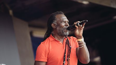 Levi Roots performing at Hackney Festival of Fitness (Pic: Virgin Sport)