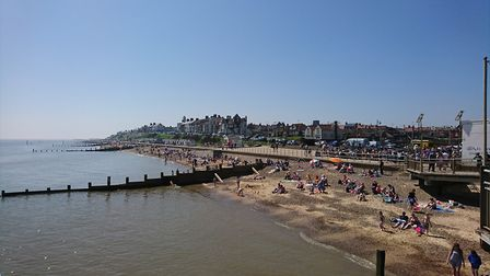 The beach at Southwold. Picture: Mark Shields.