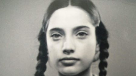 Elsa Shamash as a child. She was pictured as the 'ideal German girl', by Nazis who did not know her