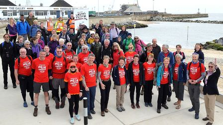 The Suffolk Walking Festival was launched in Lowestoft a couple of years ago. Picture: Mick Howes