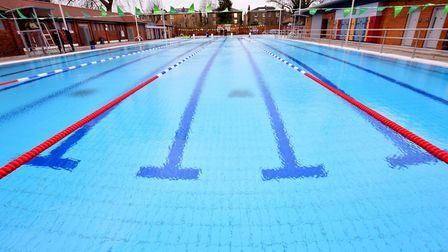 Refurbishment works have been completed at London Fields Lido. Picture: Polly Hancock