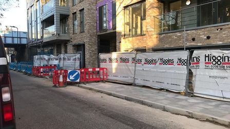 Higgins is still working on Southern Housing's development in London Lanes. Picture: Mary McGonnell