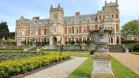 Somerleyton Hall will play host to the 'Suffolk by Nature' exhibition. Picture: James Bass