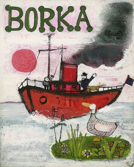 From: 'Borka the Adventures of a Goose with no Feathers' by John Burningham, published by Tom Maschl