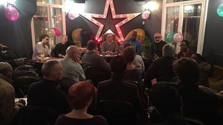 The union meeting at The Star of Hackney Downs.