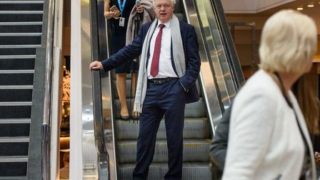 David Davis MP during the Conservative Party annual conference. Photograph: Matt Crossick/EMPICS.
