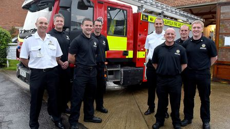 Suffolk Fire and Rescue Service launch the first Light Rescue Pump (LRP) that will be based at Wrent
