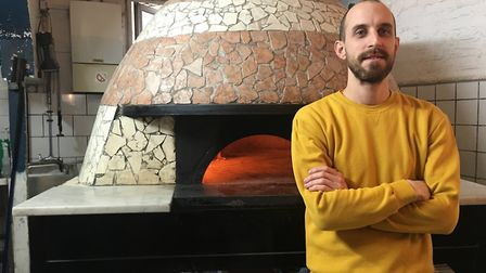 Pizzeria Apollo owner Oliver Kenny. Picture: Carlie Porterfield