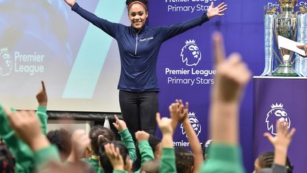 Former England footballer Alex Scott launches the Plastic Pollution Challenge with Sky Ocean Rescue