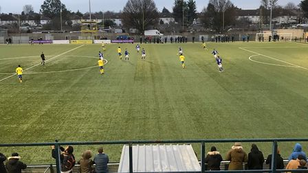 Haringey Borough remain top of the Bostik Premier League after a 1-0 win against Margate.