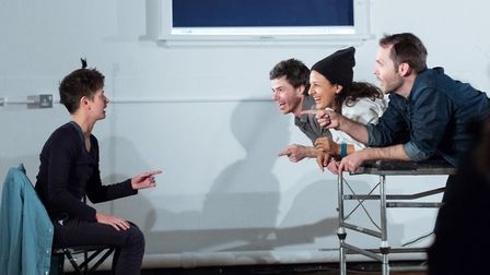 An image from rehearsals for Call it a Day. Picture: Paul Blakemore.