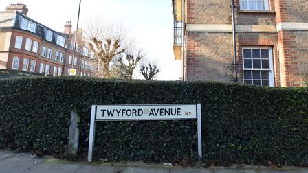 Twyford Avenue, Fortis Green - where families have been contemplating private security to battle a m