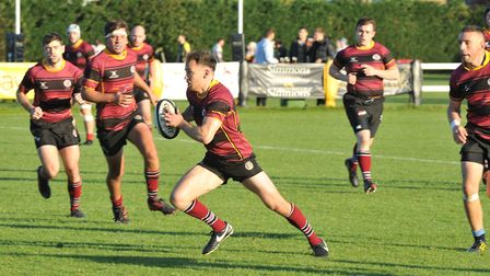 UCS Old Boys in action earlier in the season (pic: Nick Cook)