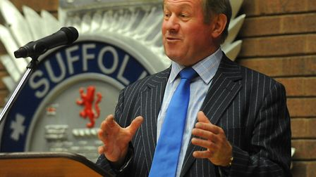 Suffolk police and crime commissioner Tim Passmore. Picture: Archant