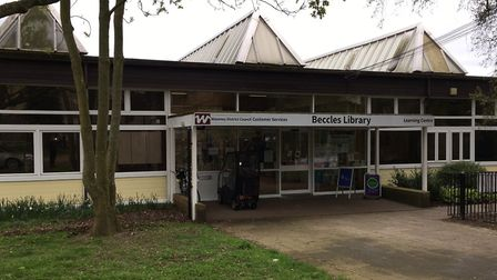 Beccles Library. Picture: James Carr