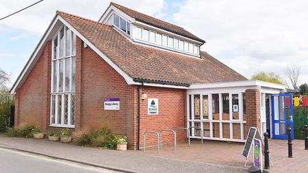 Bungay Library. Picture: Nick Butcher