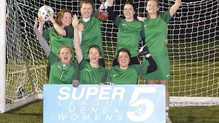 Torriano Turtles won the Hackney Super5League Europa League (pic: Hackney Super5League)