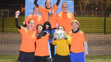 N16ers won the Intermediate Super5League Cup (pic: Hackney Super5League)