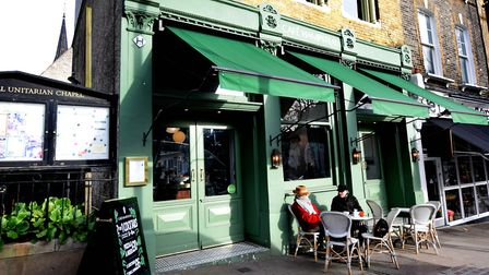 Café Hampstead, which remains open despite being liquidated. Picture: Polly Hancock