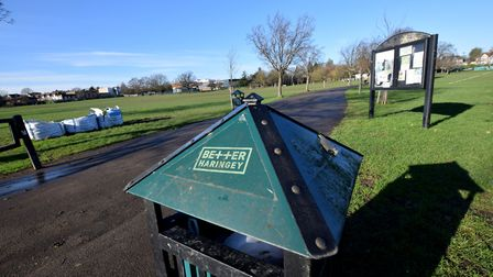 Albert Rec is one of a number of Haringey Parks to get a red rating from Keep Britain Tidy. Picture: