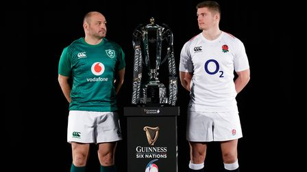 Saracens Owen Farrell (right) will hope to help England wrestle the Six Nations crown back from Irel