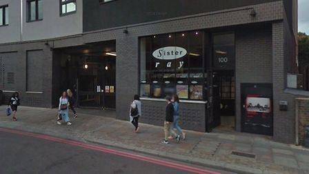 Sister Ray in Shoreditch High Street is closing down. Picture: Google