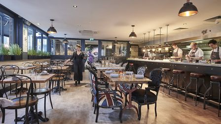 The Frog Hoxton are putting on a special tasting menu for Valentine's Day.