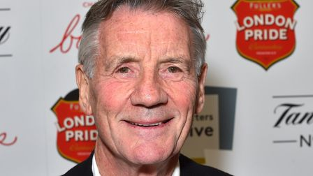 Michael Palin. Picture: Matt Crossick