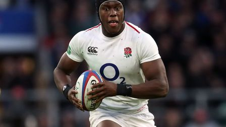 Saracens lock Maro Itoje in action for England (pic: Adam Davy/PA)