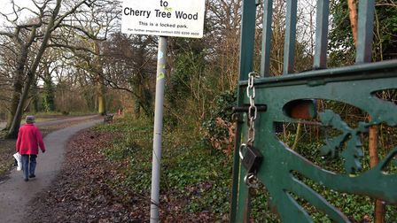 Campaigners are against plans to keep parks permanently unlocked. Picture: KEN MEARS