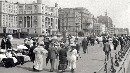Kings Road, Brighton, where John Mayall's father was waiting for him. Picture: Public Domain
