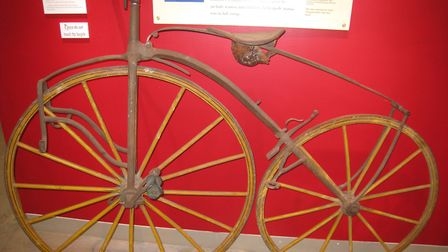 An early 'boneshaker' bike. Picture: Daderot/Public Domain