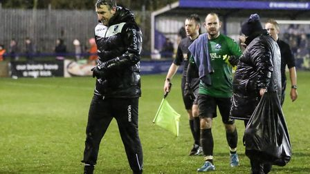 Wingate & Finchley manager Glen Little (pic: Martin Addison).