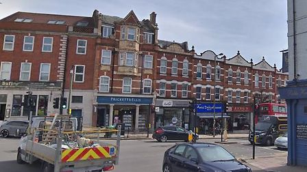 The junction where a young girl was hit by a car and suffered head injuries. Picture: Google