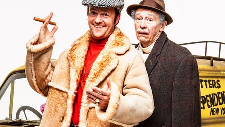 Tom Bennett as Del Boy and Paul Whitehouse as Grandad in Only Fools and Horses The Musical, picture: