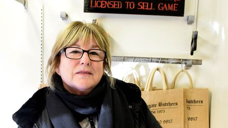 Phyllis Harper of Highgate Butchers. Picture: Polly Hancock