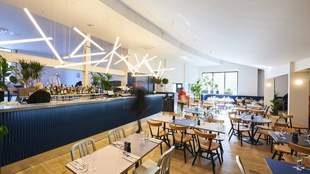 Inside the new EartH Kitchen on Stoke Newington Road. Picture: Tom Bowles.