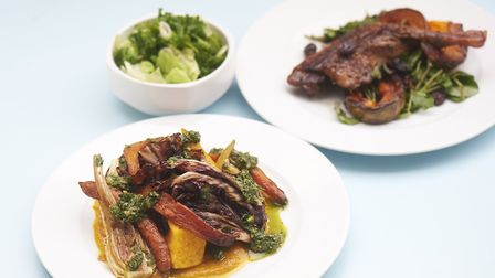 Sample dishes at EartH Kitchen. Picture: Tom Bowles.