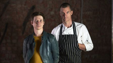 Auro Foxcroft and Chris Gillard are the duo behind the new restaurant. Picture: Thomas Bowles