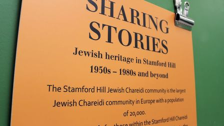 'Sharing Our Stories: Jewish Stamford Hill 1950s-1980s' features stories, objects and photos of busi