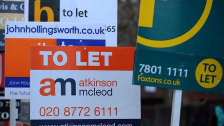 Camden Council is looking to ban estate agent boards. Picture: PA Images