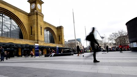 King's Cross station front. Picture: Polly Hancock