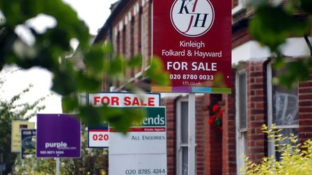 House prices in Camden have fallen in the last twelve months. Picture: PA Images