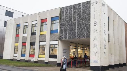 Lowestoft Library will host a drop-in workshop session this Saturday, May 12. Picture: Nick Butcher