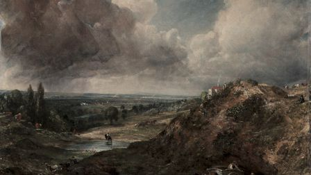 John Constable's famous painting of Branch Hill Pond on Hampstead Heath. Picture: Cleveland Museum o