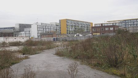 The Hornsey Depot site, which was sold for £14m, as it looked in 2013. Picture: Tony Gay