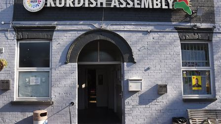 The Kurdish Community Centre in Green Lanes, which was sold by Haringey to a community group in Apri
