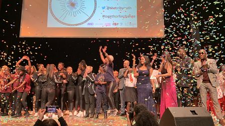 Boroughs United 2019 at the Hackney Empire